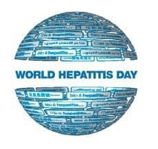 logo for world hepatitis day
