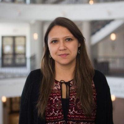 Silvia Serrano-Guzmán Headshot