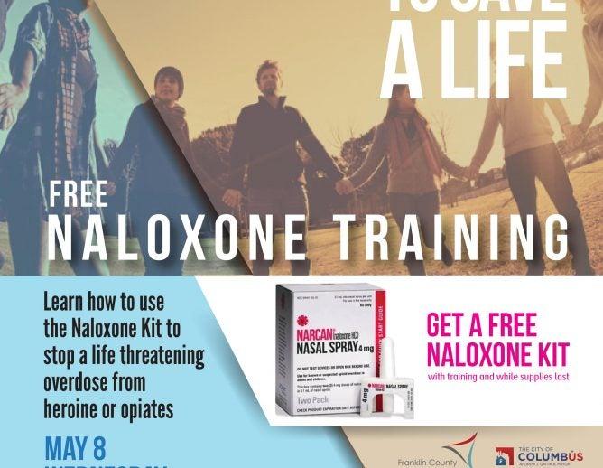Naloxone Training event graphic