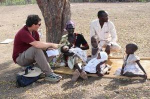 Family In South Sudan