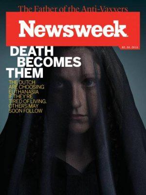 "Newsweek Headline ""Death Become Them"" Cover"