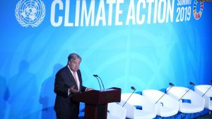 Picture from Climate Action 2019 Summit
