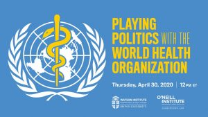 Playing Politics with the WHO Graphic