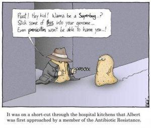 Antibiotic Resistance Cartoon
