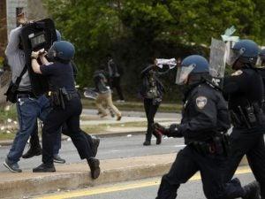 Protest-police violence