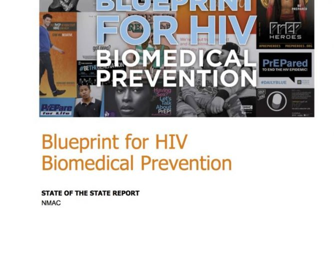 Blueprint for HIV Biomedical Prevention Report Cover page