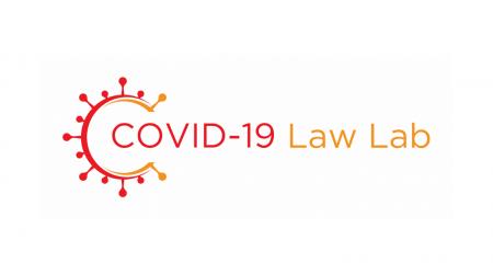 COVID-19 Law Lab Logo Banner