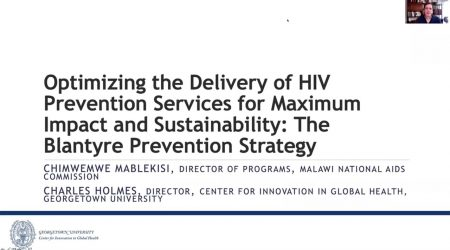 Optimizing the Delivery of HIV Prevention... Screenshot