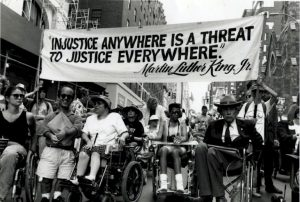 Disabilities Right Protest Picture