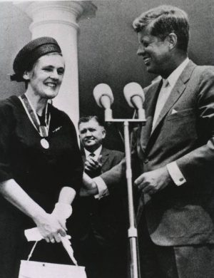 JFK with Frances Kelsey