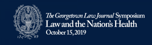 Georgetown Law Journal Event Graphic