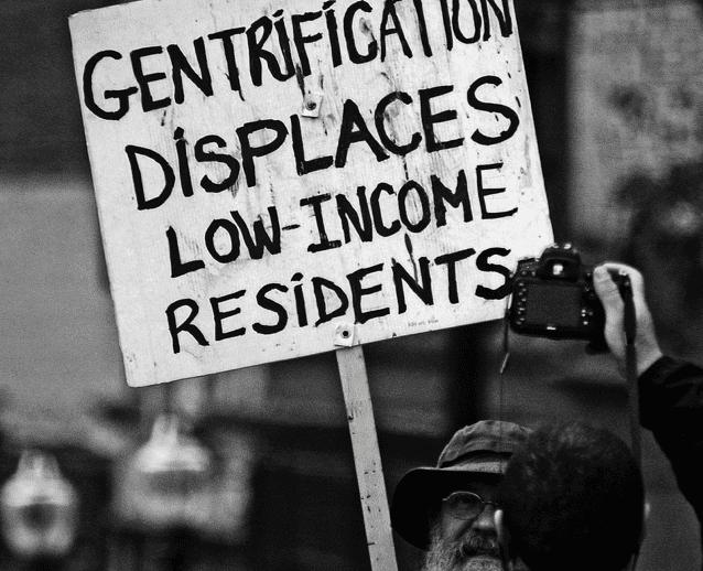 Gentrification Protest Image