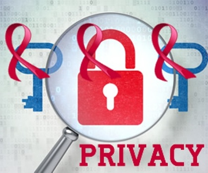 HIV and Privacy Graphic