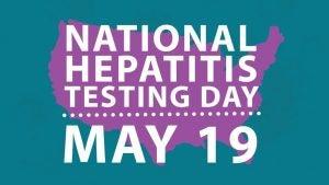 National Hepatitis Testing Day Graphic