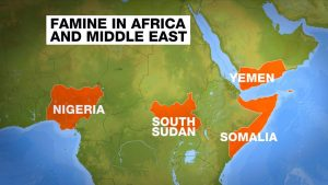 Famine in Africa and Middle East image