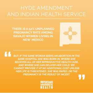 Hyde Amendment and Indian Health Services Fact Sheet