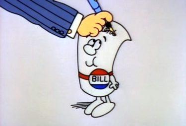 Sign a bill cartoon