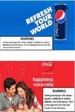 Soda advertisement
