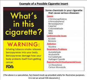 Cigarette Info Sheet