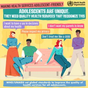 Graphic on Making Health Services Adolescent-friendly