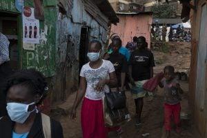 Kibera slum during COVID from New York Times
