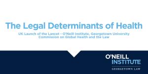 Legal Determinants of Health Event Flier
