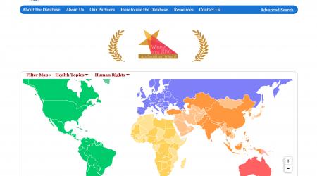 Global Health and Human Rights Database Screenshot