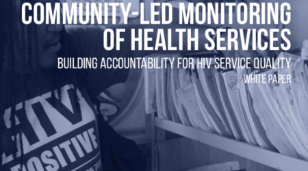 Community-Led Monitoring of Health Services Graphic