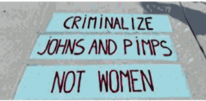 Sex worker protest graphic
