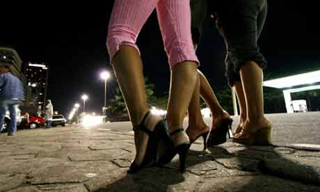 Sex workers feet image