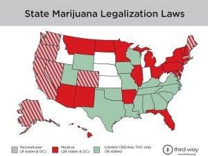 State Marijuana Legalization Laws