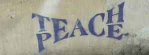 Teach Peace Graphic