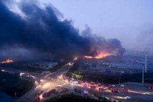 Tianjin Blast Photo