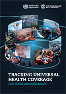 Tracking Universal Health Coverage report cover