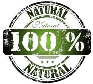 100% Natural logo