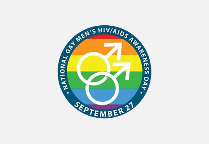 National Gay Men's HIV/Aids Awareness Day Banner
