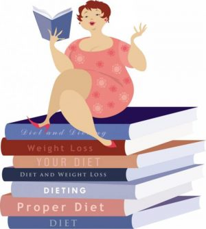 Diet books graphic
