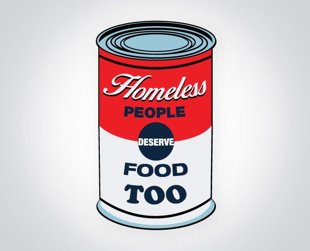 Homeless people deserve food too graphic