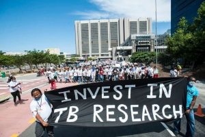 TB Investment Research protest