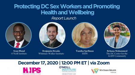 Protecting DC Sex Workers and Promoting Health and Wellbeing Event Logo