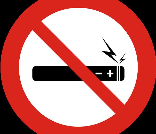 No e-cigarettes