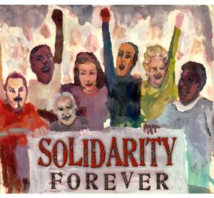 Solidarity forever graphic