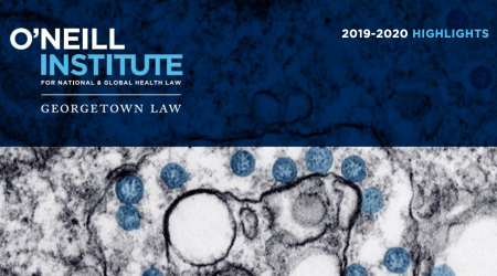 O'Neill Institute 2019-2020 Highlights Cover