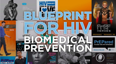 Cover of Blueprint for HIV Biomedical Prevention: State of the State Report